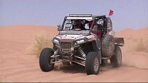 Rallye Merzouga: action clip