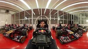 Гран Прі Іспанії- коло 360 з Карлосос Сайнсом - Scuderia Toro Rosso