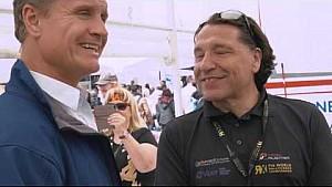 ¡David Coulthard visita los neumáticos Cooper World RX de Hockenheim!