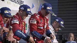 WEC 6 hours of Spa-Francorchamps - LMGTE Pro podium