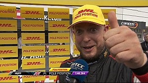 Interview - Rob Huff takes Pole Position in Hungary WTCC 2017