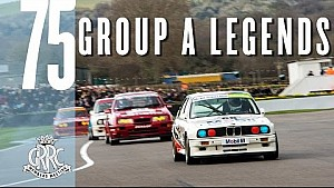 Muscular group A touring cars roar at 75MM