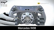 Ferrari and Mercedes clutch paddles