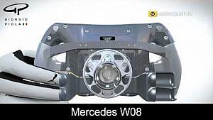 Palettes d'embrayage Ferrari et Mercedes