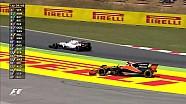 2017 İspanya GP - Vandoorne Süspansüyon Kırdı