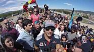Hogar dulce hogar, Carlos en su tribuna - Scuderia Toro Rosso