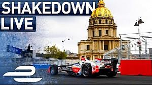 Shakedown - Live from Paris pit lane - 2017 FIA Formula E Qatar airways Paris ePrix