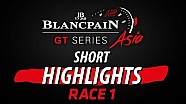 Short highlight  - Race 1 - Blancpain GT series Asia - Buriram 2017