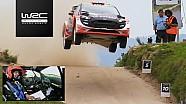 Rally de Portugal 2017: Mads Østberg´s jump @ Fafe