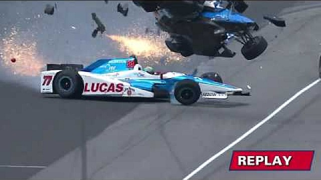 IndyCar El terrible accidente de Scott Dixon
