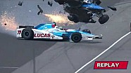 Crash Scott Dixon in Indy 500