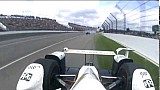 Acidente de Dixon na Indy 500 - onboard Castroneves