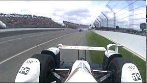 Castroneves On-Board View of Dixon Incident