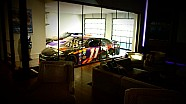 Denny Hamlin's Daytona 500-winning car right at home