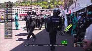 2017 Monaco GP  -Bottas Pitte