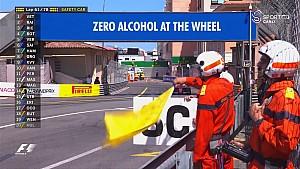 2017 Monaco GP  - Button- Wehrlein Kazası ve Güvenlik Aracı