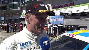Interview Thed Björk wins the Opening Race in Germany