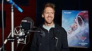 Previo: Sebastian Vettel para Cars 3 en italiano