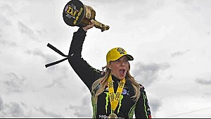 Brittany Force picks up her first win of the year in Epping