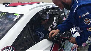 Trevor Bayne Is ready to roll at the Monster Mile of Dover