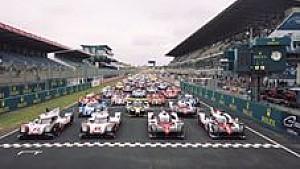 Porsche beim Vortest in Le Mans