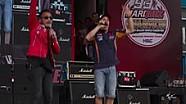 Marquez bernyanyi di Sentul