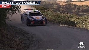 Rally Italia Sardegna day one - Hyundai Motorsport 2017