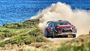 The 2017 rally Italia Sardegna highlights by Citroën Racing