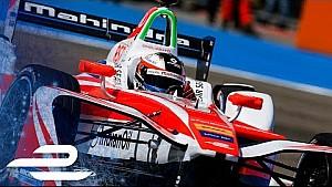 Julius Baer pole position lap - 2017 Berlin ePrix (Race 2) - Formula E