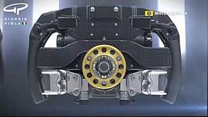 Cambios en el volante de Ferrari para 2017
