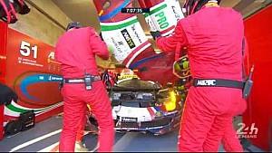 Le Mans 24 Saat 2017 - Ferrari #51 Acil Stop