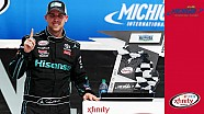 Recap: Hamlin finds luck in Michigan