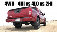 How 4WD works — 4Hi vs 4Lo vs 2Hi — Acceleration testing