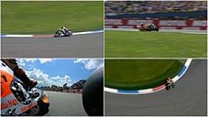 Kontroversi Rossi vs Marquez di MotoGP Belanda 2015