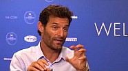 Mark Webber looks to the future at the FIA Sport Conference