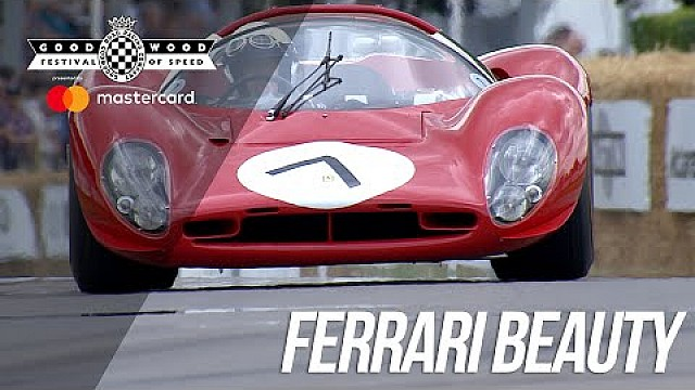 El Ferrari P3/4 en Goodwood