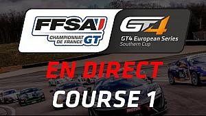 Championnat de France FFSA GT - GT4 European Series Southern Cup - Circuit Dijon-Prenois - Course 1