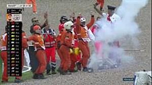 Selebrasi Marquez di Sachsenring dengan kembang api