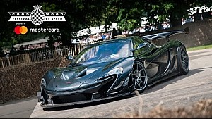 Le record de la McLaren P1 LM à Goodwood en embarqué