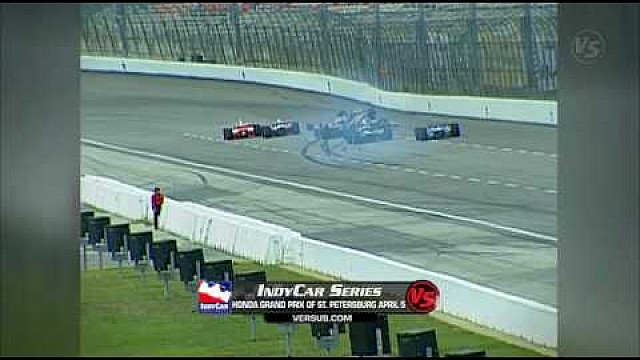 214G: De crash van Kenny Bräck in Texas 2003