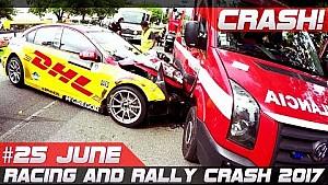 Racing & rally crash semana compilación 25 de junio de 2017