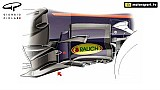 Red Bull RB13: sviluppo del bargeboard dalla Spagna all'Austria