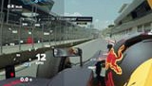 Себастье Ожье тестирует машину Ф1