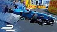 Best crashes, spins, slides & saves compilation: Qualcomm New York City ePrix 2017