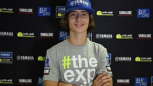 4th Yamaha VR46 Master Camp: Rider interview - Renzo Ferreira