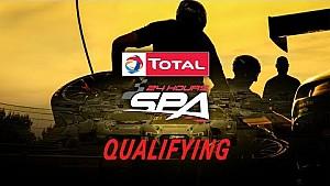LIVE - Kwalificatie 24 uur Spa
