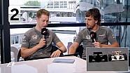Fernando Alonso Stoffel Vandoorne | F1 Grill The Grid 2017