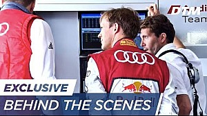 With Mattias Ekström behind the DTM scenes