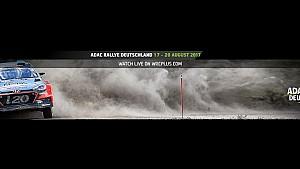 Rally Germany 2017: Service park live