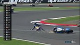 Marquez kecelakaan saat memimpin di Silverstone!